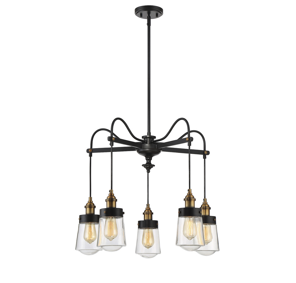 RGU 1-2060-5-51 Macauley 5 Light Chandelier 5X60Edison