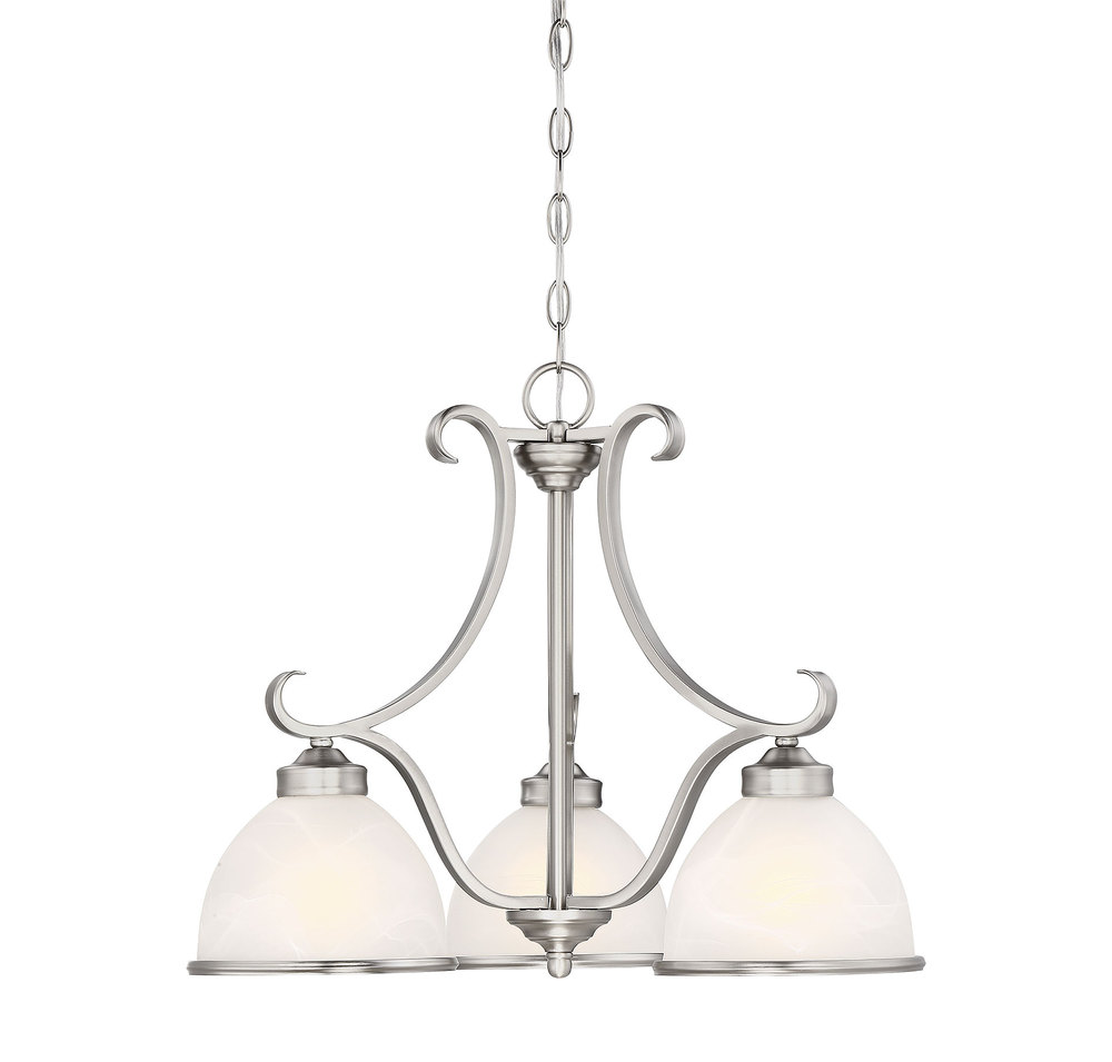 RGU 1-5777-3-69 Willoughby 3 Light Chandelier 3X60Edison