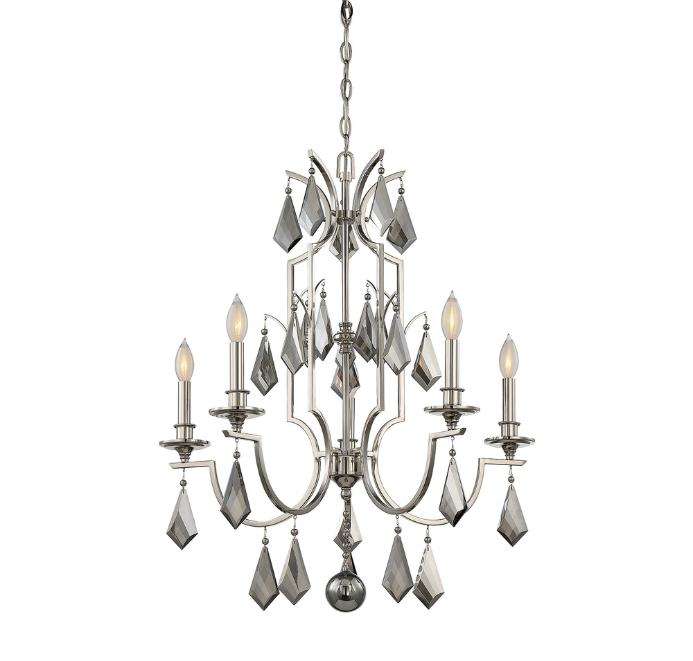 RGU 1-875-5-109 Ballard 5 Light Chandelier 5X60Candelabra