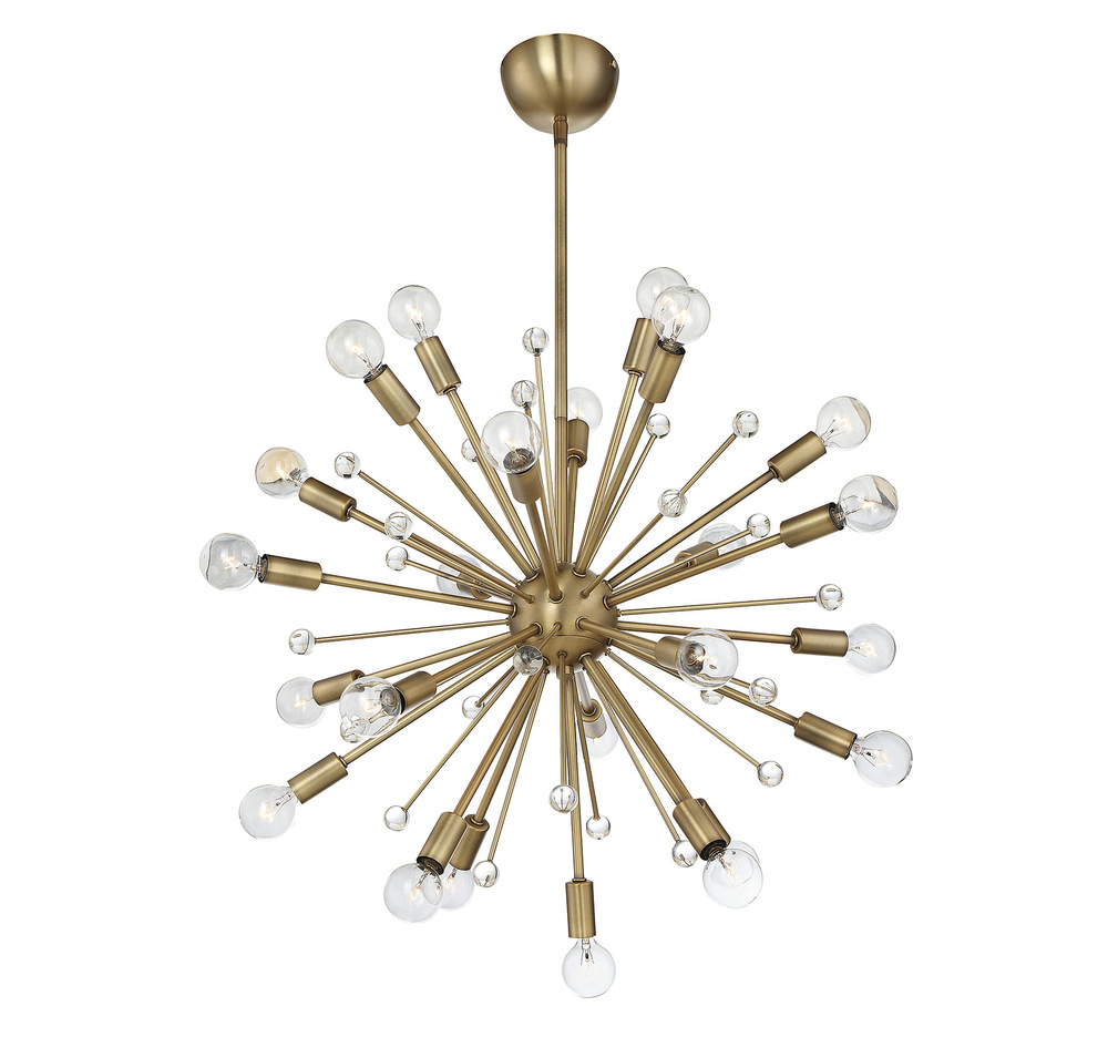 RGU 7-6099-24-322 Galea 24 Light Chandelier 24X25Candelabra