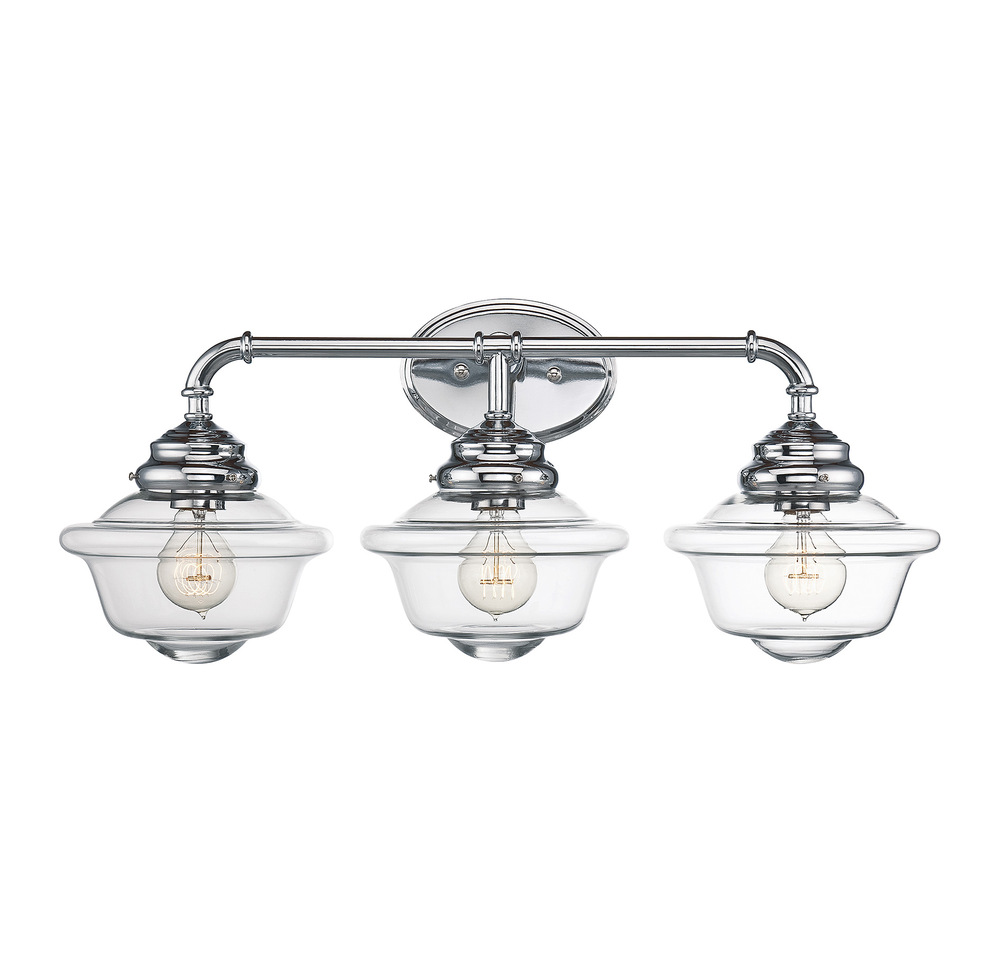 RGU 8-393-3-11 Fairfield 3 Light Bath Bar 3X60Edison