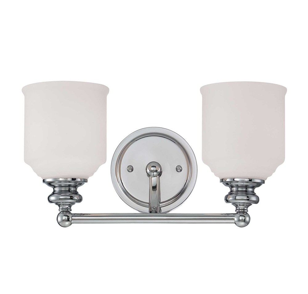 RGU 8-6836-2-11 Melrose 2 Light Bath Bar 2X60Edison