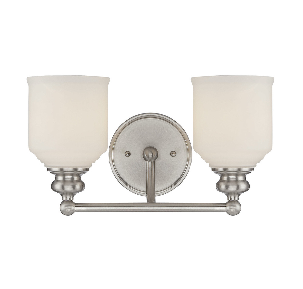 RGU 8-6836-2-SN Melrose 2 Light Bath Bar 2X60Edison