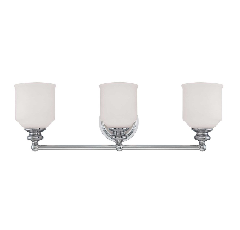 RGU 8-6836-3-11 Melrose 3 Light Bath Bar 3X60Edison