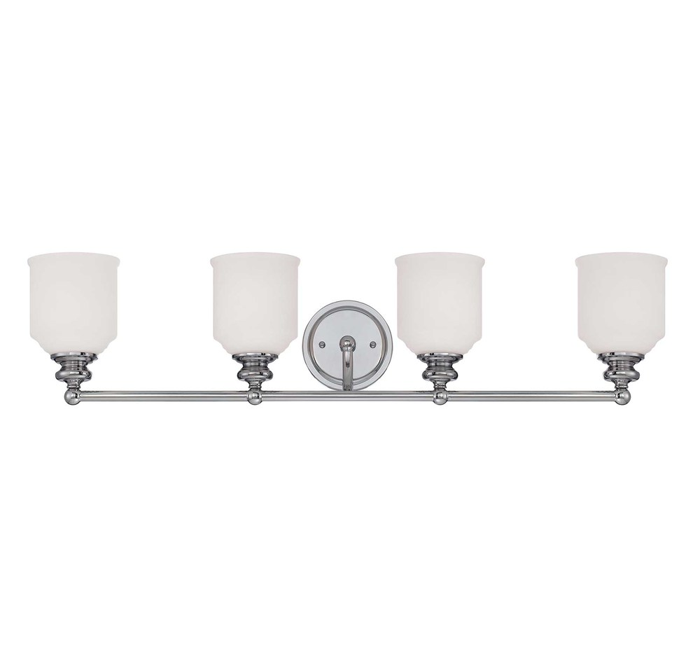 RGU 8-6836-4-11 Melrose 4 Light Bath Bar 4X60Edison
