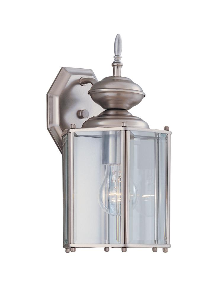 "DEF 2436-BK 9"""" Post Lantern 1X100Medium"