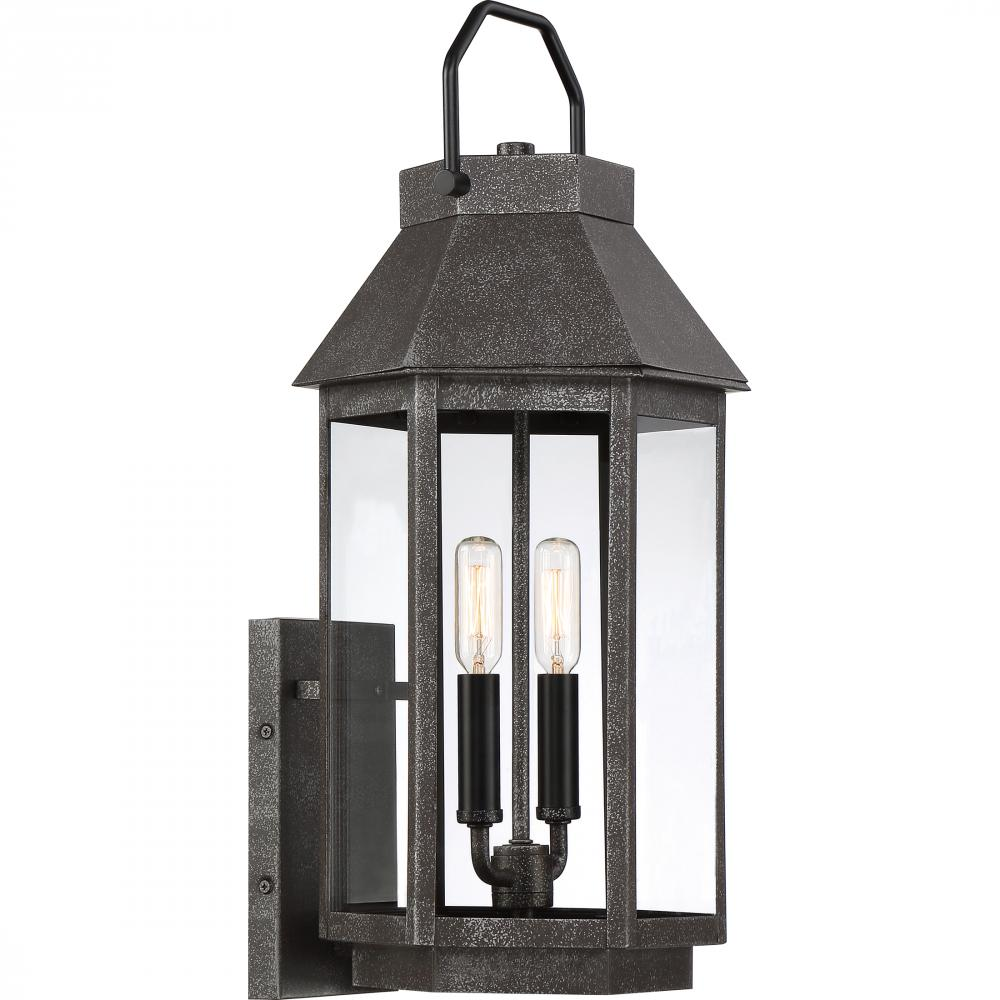 QUO CPB8409SPB Campbell Outdoor Lantern