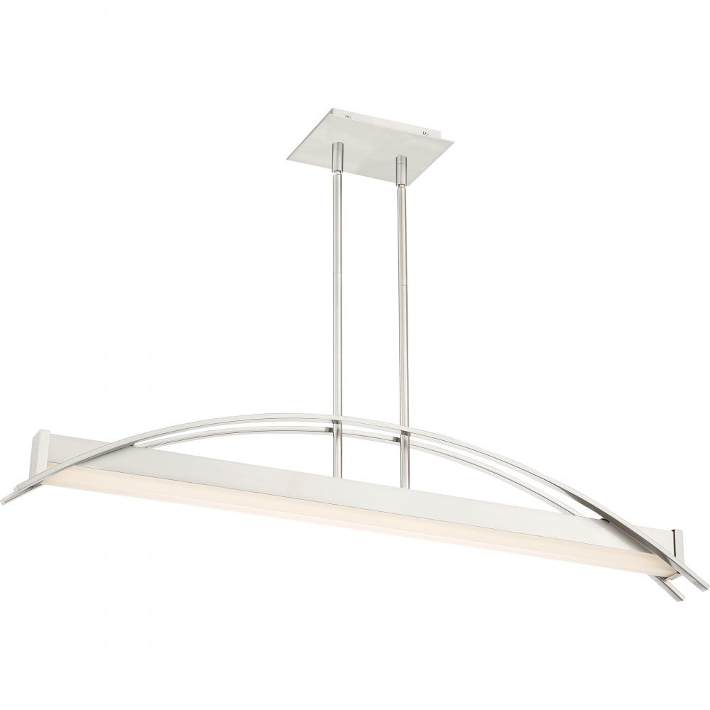 QUO PCSE138BN Platinum Collection Sabre Island Chandelier