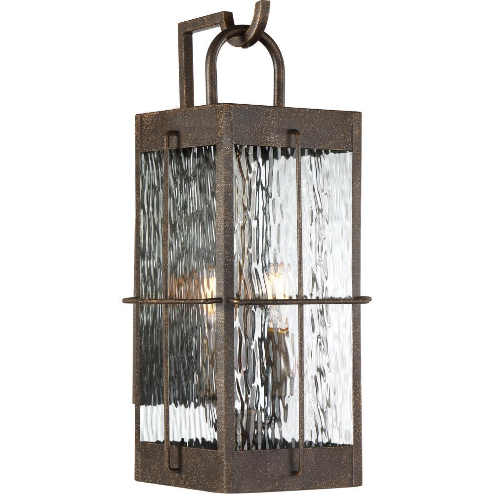 QUO WAR8408GZ Ward Outdoor Lantern