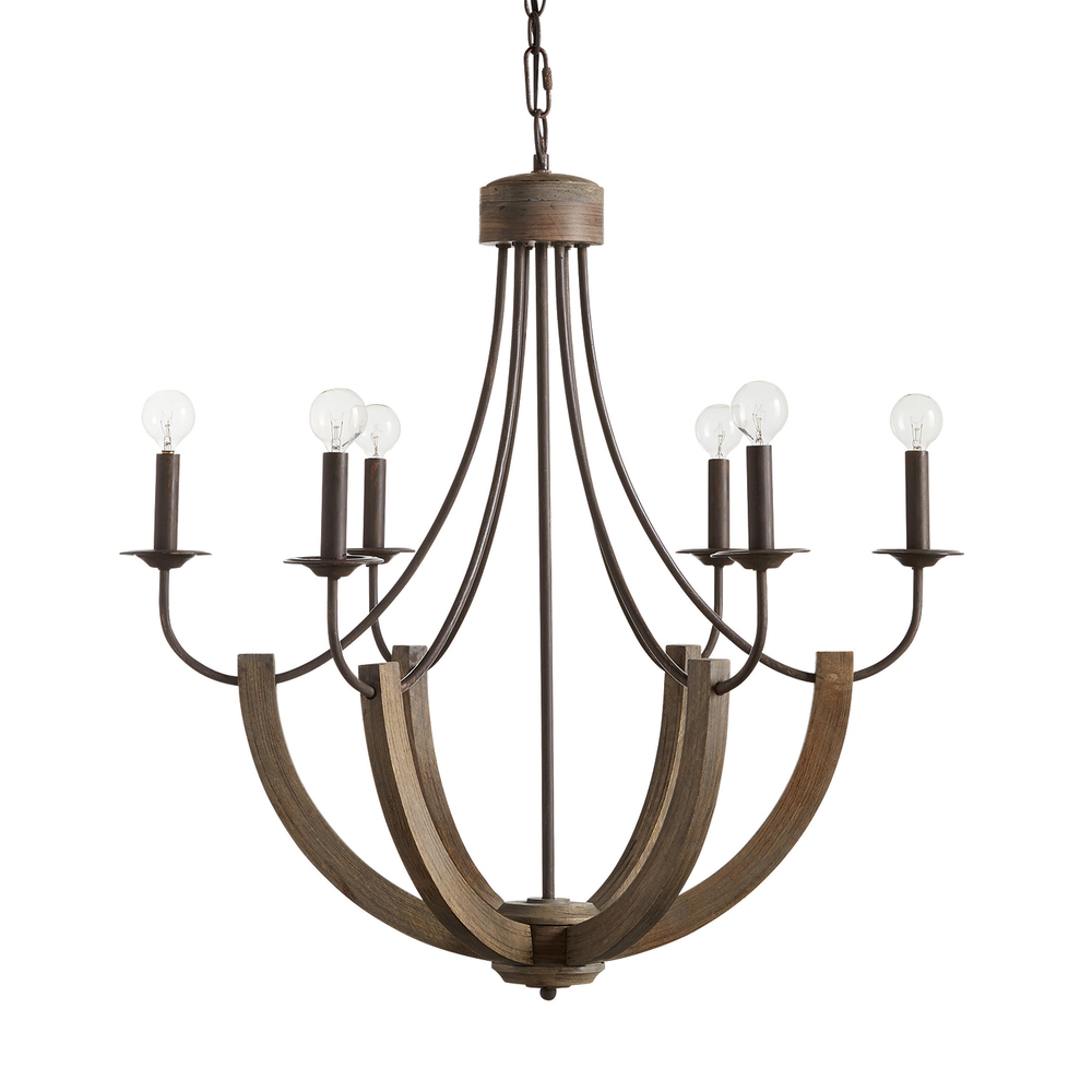 CPL 429161NG 6 Light Chandelier 60CAC NEWSTOCK FEB 2020