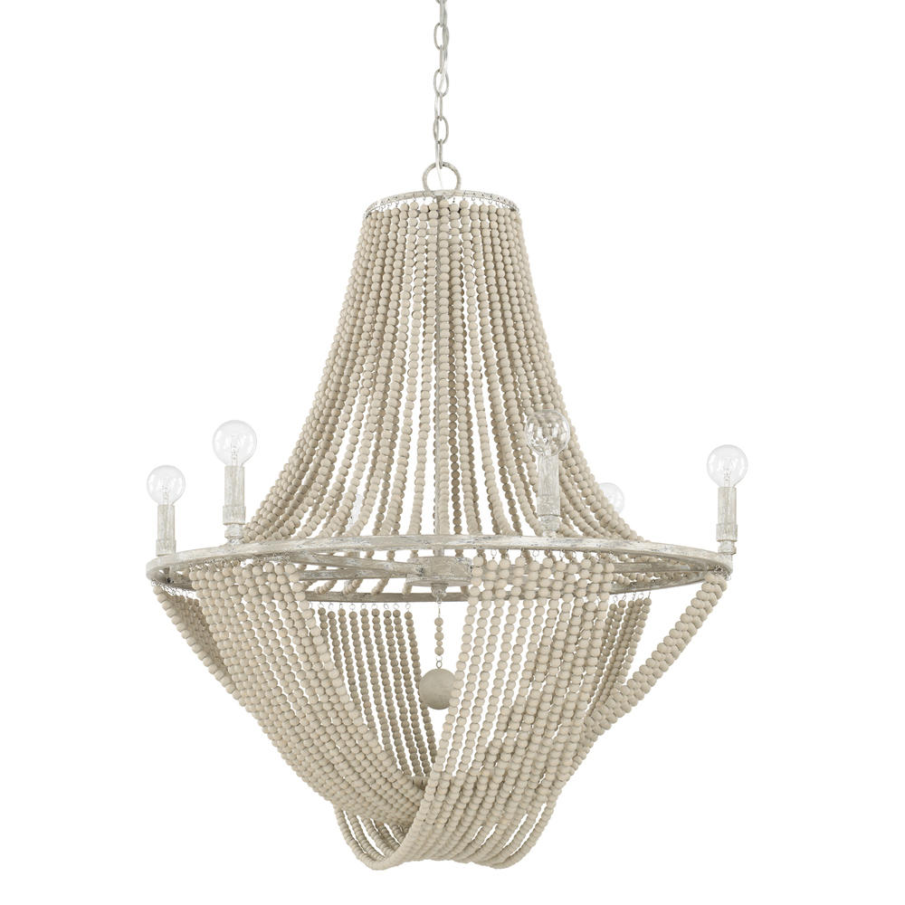 CPL 429561MS 6 Light Chandelier 60CAC