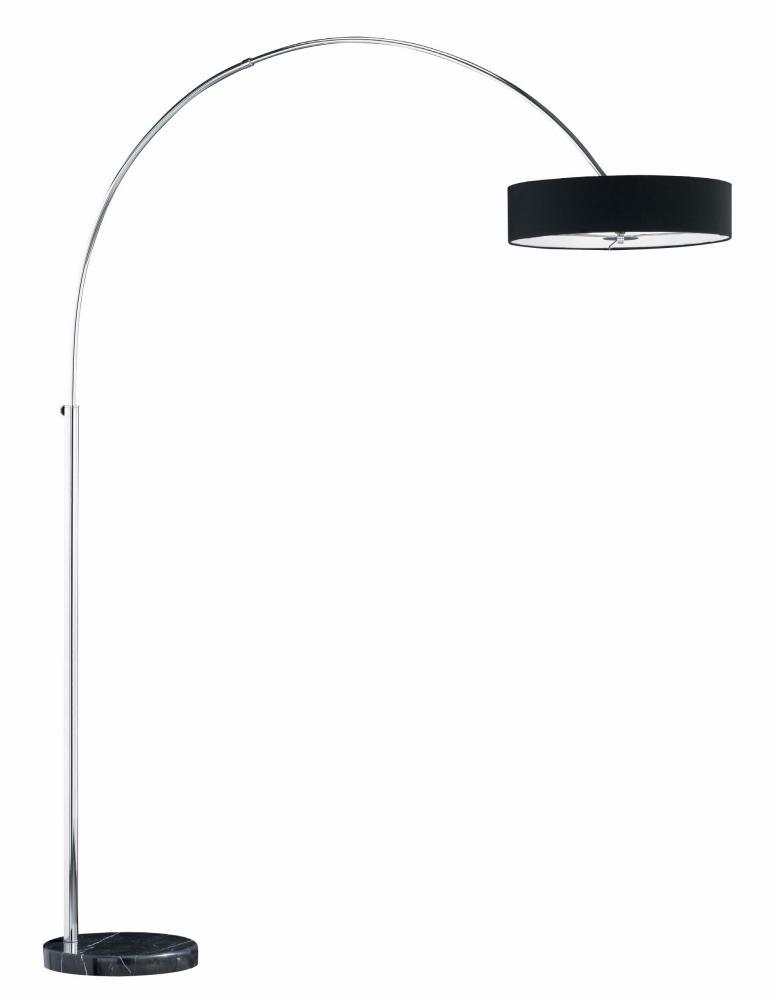 ARG 421100302 Madgeburg Black Floor Lamp