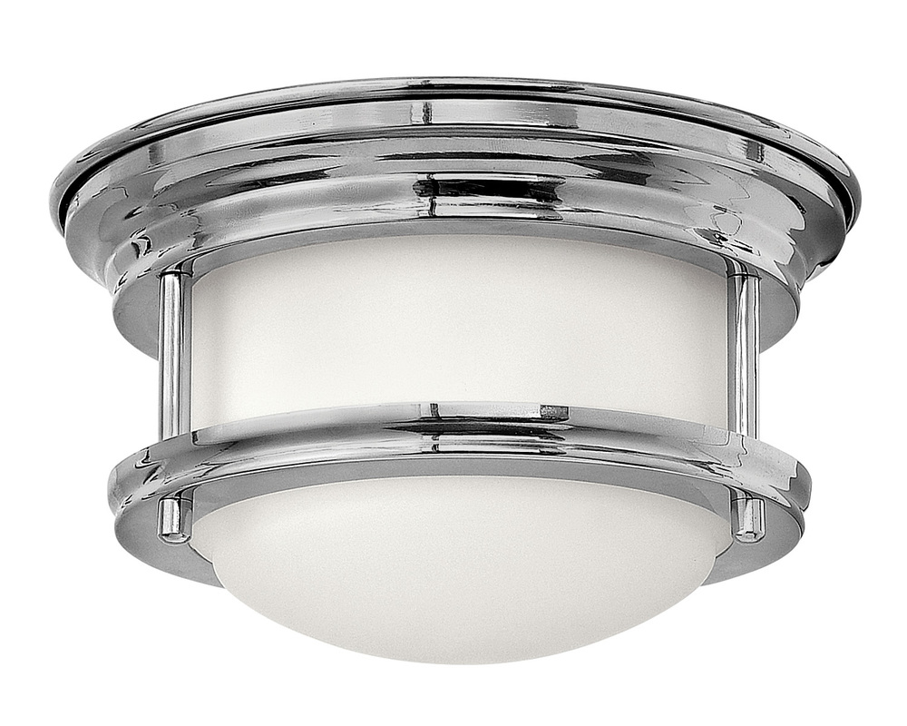 "HIN 3308CM Hadley 1Lt Chrome LED Flush Mount 7.75""W x 4""H lamp included NEWSTOCK FEB 2020"